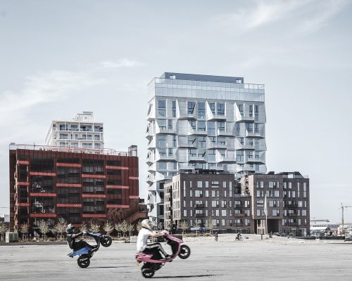 The Silo Apartments in Copenhagen