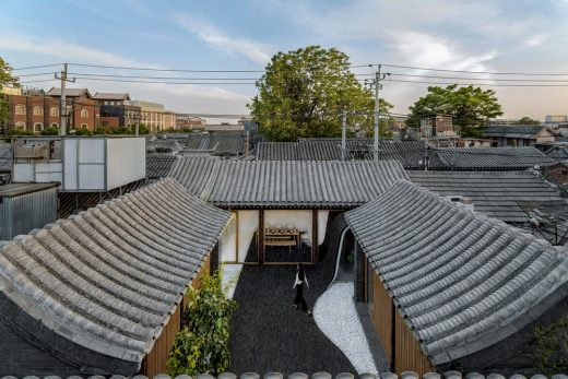 Twisting Courtyard in Beijing