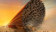 Design Concept for the UK Pavilion at Expo 2020 in Dubai