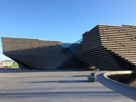 V&A at Dundee Museum Building