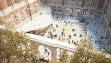 V&A Exhibition Road Project courtyard design by AL_A