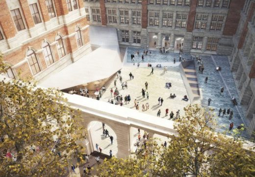 V&A Boilerhouse Yard: Exhibition Road Project