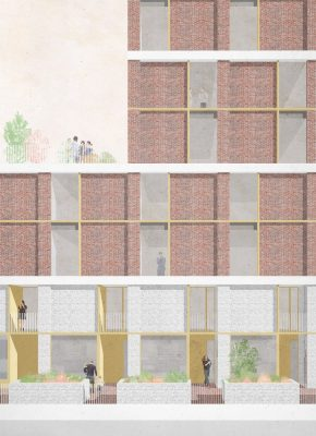 Wimbourne St and Buckland St Housing by Mikhail Riches Architects