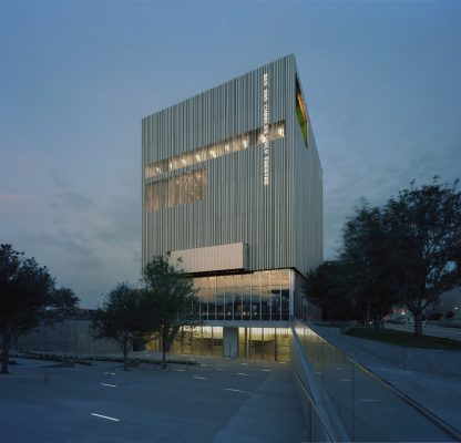 Wyly Theatre building in Texas by REX Architecture