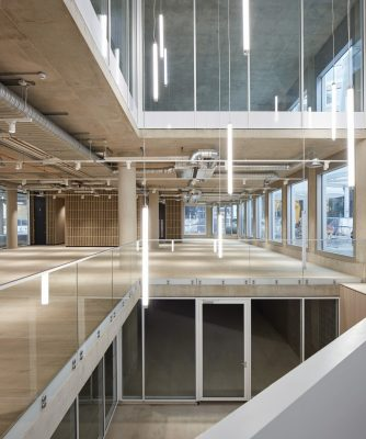 XYZ Spinningfields Manchester offices | www.e-architect.com