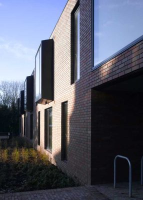 Yew Tree Lodge building in London by Duggan Morris Architects