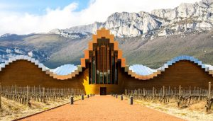 Ysios Winery building