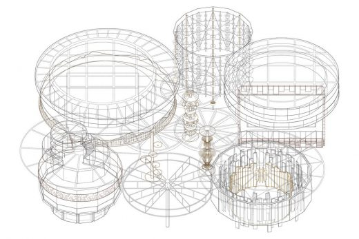 Design Concept for the Swiss Pavilion at Expo 2020 in Dubai axo