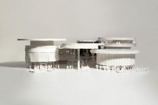 Design Concept for the Swiss Pavilion at Expo 2020 in Dubai model