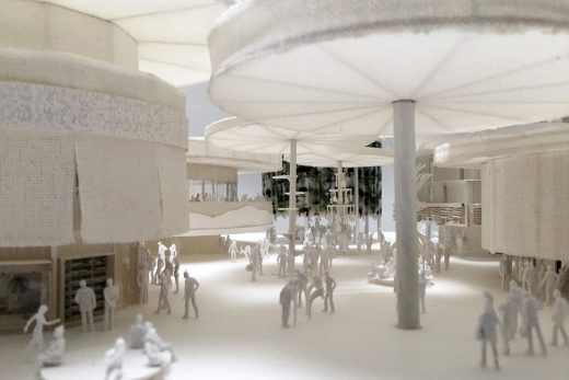 Model Design Concept for Swiss Pavilion at Expo 2020 in Dubai