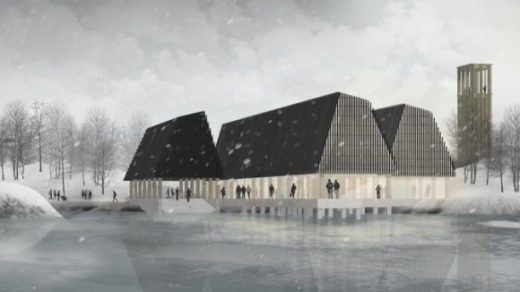 Marine Research Centre by Daniel Cardno, Scott Sutherland School of Architecture