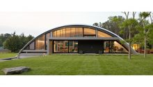 Arc House in East Hampton