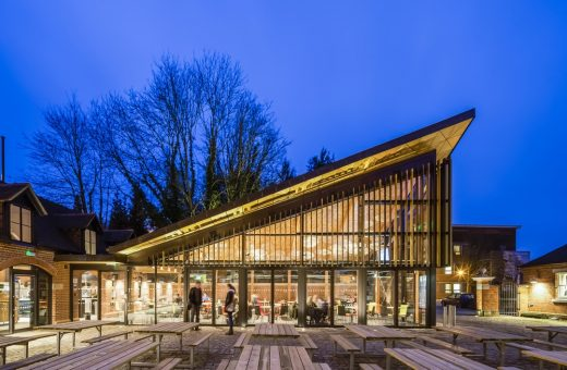 The Boilerhouse for Royal Holloway, University of London | www.e-architect.com