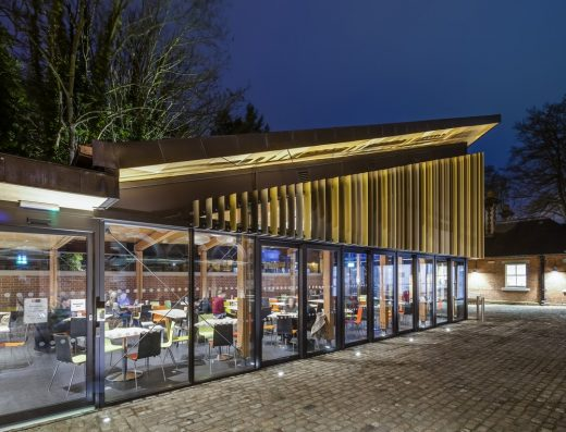 The Boilerhouse for Royal Holloway, University of London | www.e-architect.co.uk