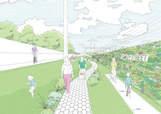 Camden Highline London design proposal