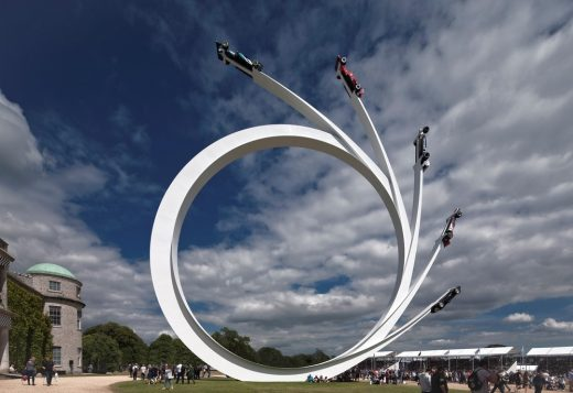 Central Sculpture for Goodwood Festival of Speed 2017