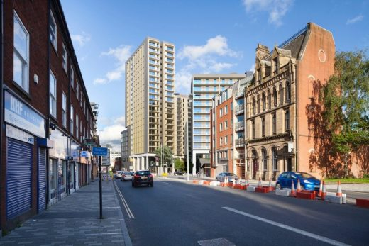 Chapel Street Regeneration Buildings Salford