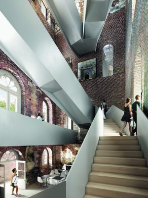 Clandon Park in Surrey Competition design by Allies and Morrison