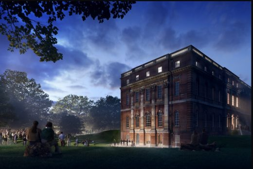 Clandon Park in Surrey Competition design by AL_A