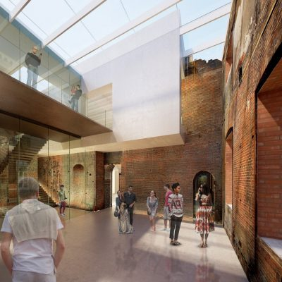 Clandon Park in Surrey Competition design by Donald Insall Associates