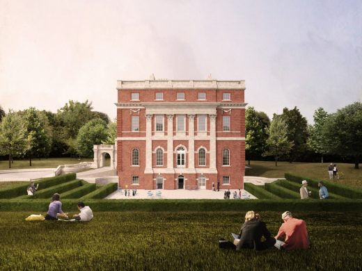 Clandon Park in Surrey Competition design by Selldorf Architects