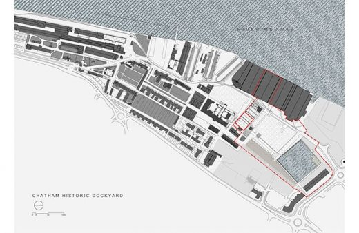 Command of the Oceans Chatham location plan