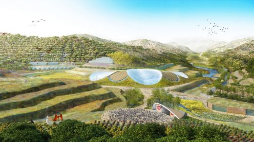 Eden Project International Yan'an building design