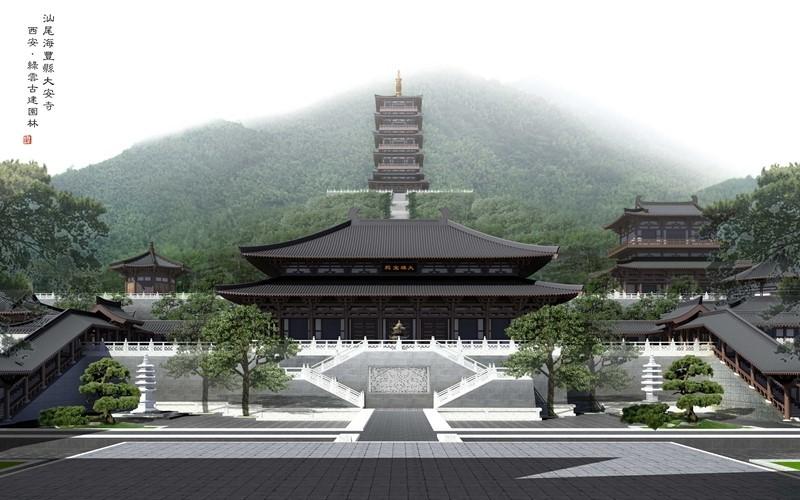 haifeng da u0026 39 an temple  guangzhou  china