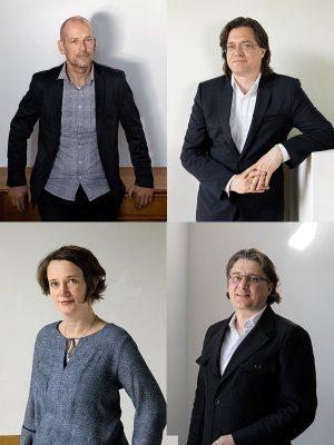 UNStudio Partners - Harm Wassink, Gerard Loozekoot, Hannes Pfau and Astrid Piber