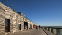 Hastings Pier Regeneration building