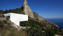 House on the Cliff in Alicante, Spain
