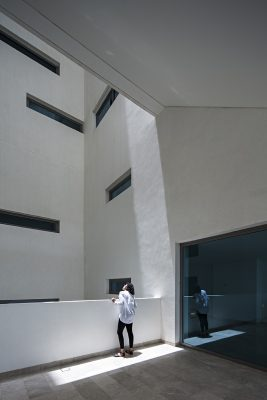 Kuwait Wind Tower Salmiya building interior