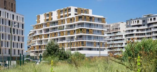Languedoc Roussillon Apartment Building in Montpellier | www.e-architect.co.uk
