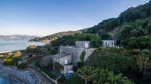 Luxury seaside house by Portovenere on Palmaria Island, Liguria