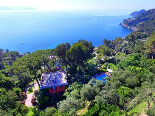 Luxury villa by the sea in Santa Margherita Ligure