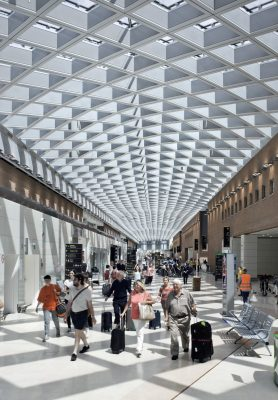 Marco Polo Airport Venice New Terminal Building | www.e-architect.co.uk