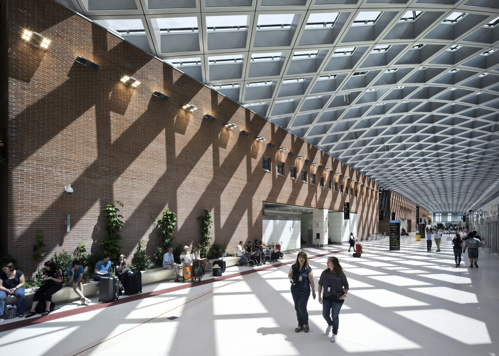 New Terminal Of The Marco Polo Airport In Venice E Architect