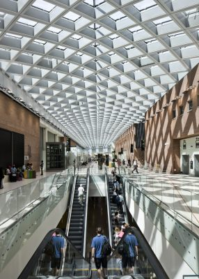 New Terminal of the Marco Polo Airport in Venice | www.e-architect.co.uk