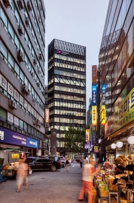 Namdaemun Office Building in Seoul by Mecanoo | www.e-architect.co.uk