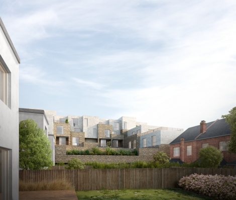 New Homes in Brent Cross gardens and houses
