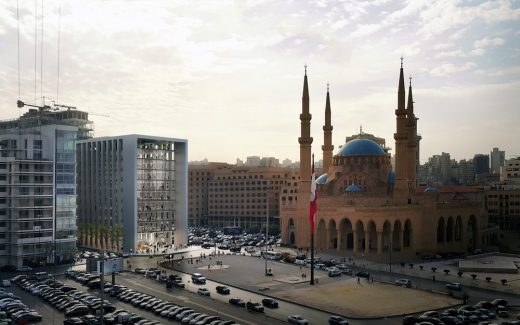 One Independence Square Beirut building design