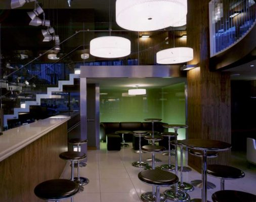Radisson Hotel Glasgow bar interior by Graven Images