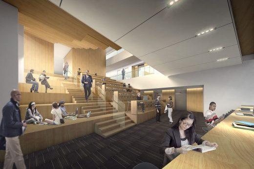 Robarts Library at the University of Toronto