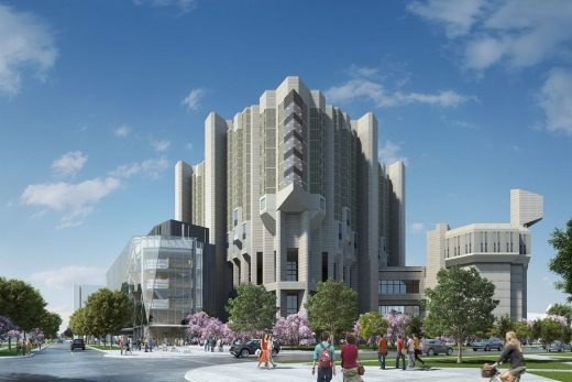 Robarts Library at the University of Toronto