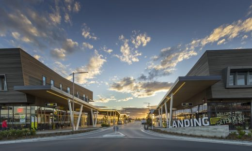 The Landing in Christchurch