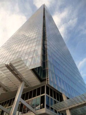 The Shard London tower building