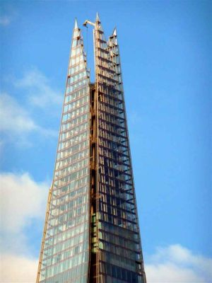 The Shard London tower pinnacle
