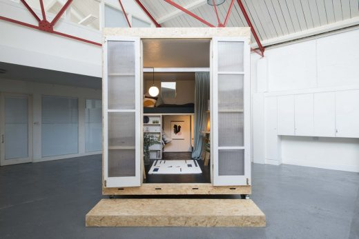 The Shed: Sustainable Affordable Living in City Centres | www.e-architect.co.uk