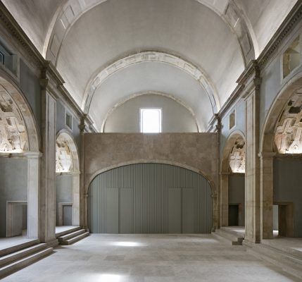 College in Coimbra by Aires Mateus Architects