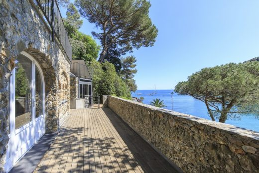 luxury Italian villa for sale by the sea in Santa Margherita Ligure